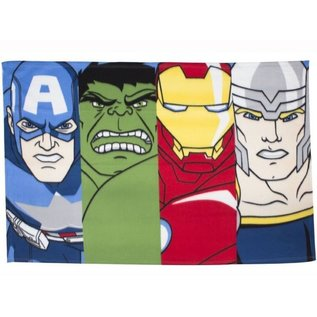 Marvel Comics Avengers fleece deken Lineup - 100x150 cm