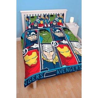 Marvel Comics Avengers dekbedovertrek Tech 200x200 cm