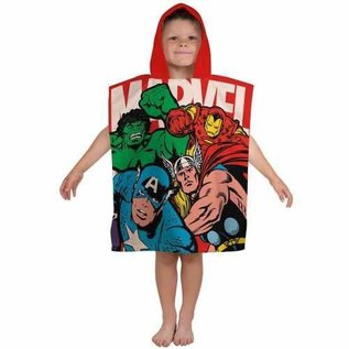 Marvel Comics Avengers badponcho met capuchon Strike