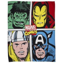 Marvel Comics Avengers fleece deken Strike