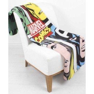 Marvel Comics Avengers fleece deken Strike - 100x150 cm