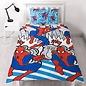 Marvel Comics Spiderman dekbedovertrek Popart 135x200 cm