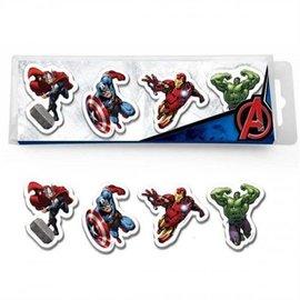 Marvel Comics Avengers gummen (4 st.)