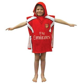 Arsenal FC badponcho met capuchon