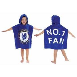 Chelsea FC badponcho met capuchon