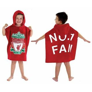 Liverpool FC badponcho met capuchon