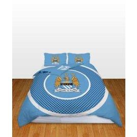 Manchester City FC dekbedovertrek 200x200 cm