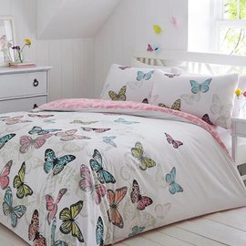 Bright Butterflies dekbedovertrekken