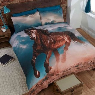 Paarden dekbedovertrek Shadow Horse