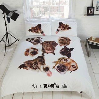 Dog life dekbedovertrek