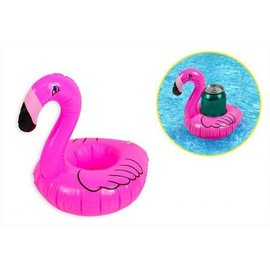 Flamingo opblaasbare drankhouder