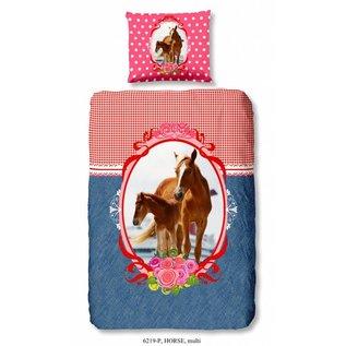 Good morning Paarden dekbedovertrek Horse 140x220 cm