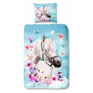 Good morning Dekbedovertrek paard My Beauty 140x220 cm