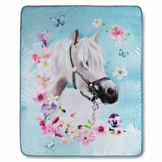 Good morning Fleece plaid paard My beauty