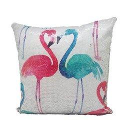 Flamingo decoratie kussen