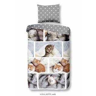 Good morning Dekbedovertrek Kittens 140x220 cm