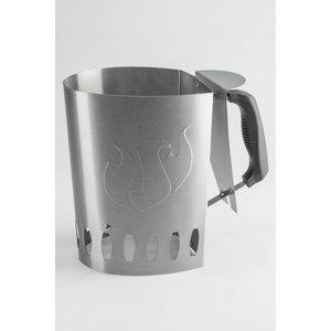 LANDMANN BBQ accessoires Houtskoolstarter RVS