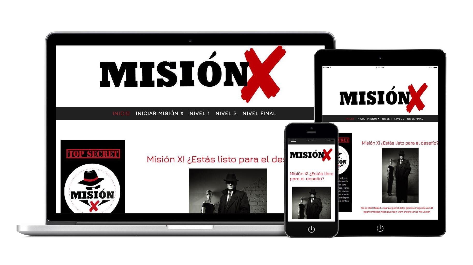 aparatos fiesta Mision X