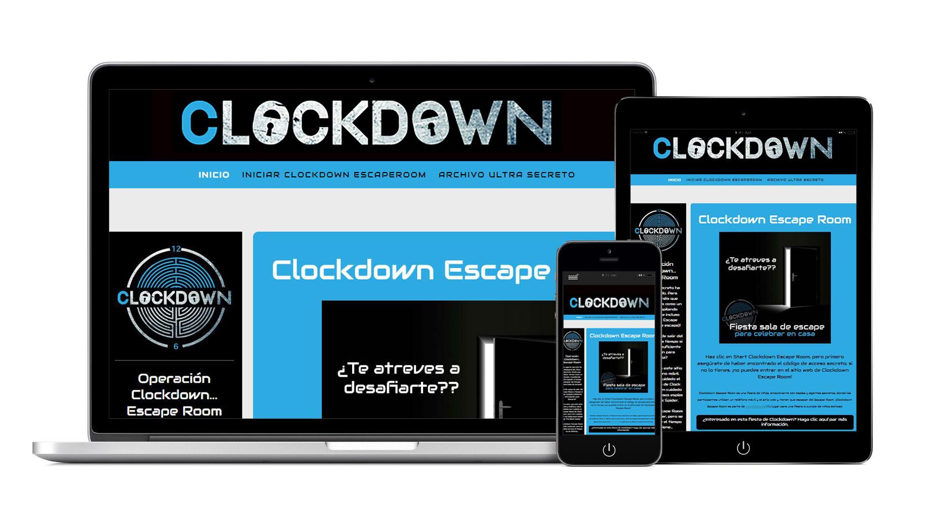 aparatos fiesta Clockdown