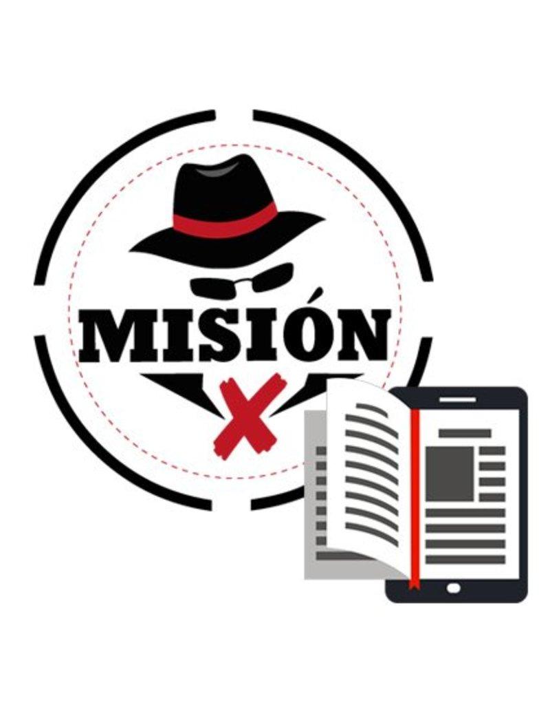 Misión X   Guion digital