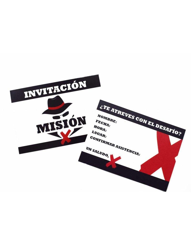 Misión X  Paquete de fiesta 'mediano'