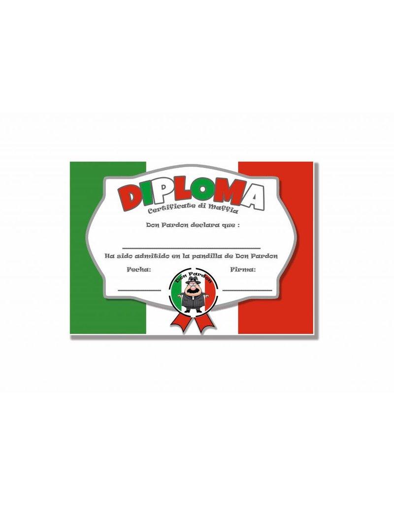 Don Pardon Diploma Mafia