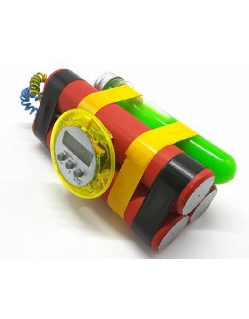 Zombie Squad Bomba con temporizador con tubo 'virus zombie'