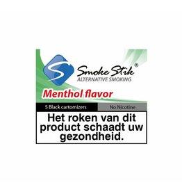 Smokestik Cartomizer Menthol  Black 5 Pack