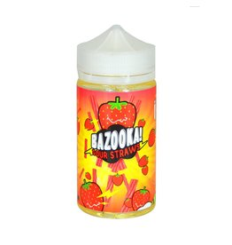 Bazooka! Sour Straws | Strawberry - 200ml