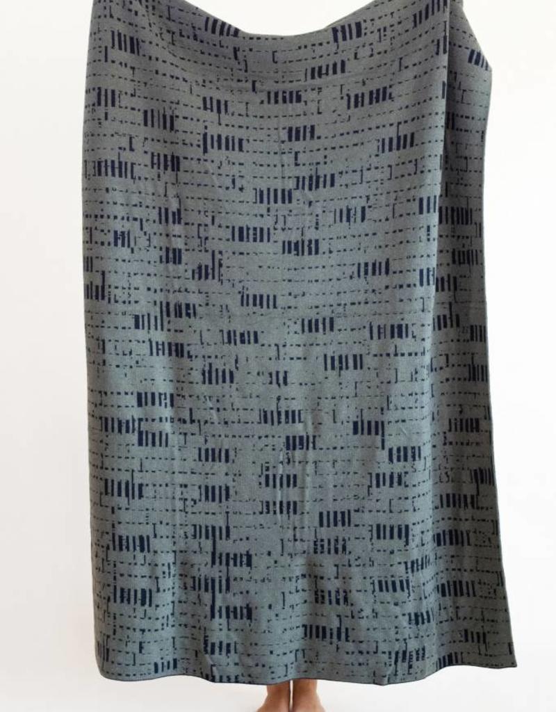 Sophie Speck illi plaid - Blauw en groen