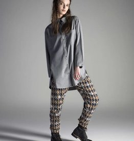 Pluto Broek - Manhattan dogtooth