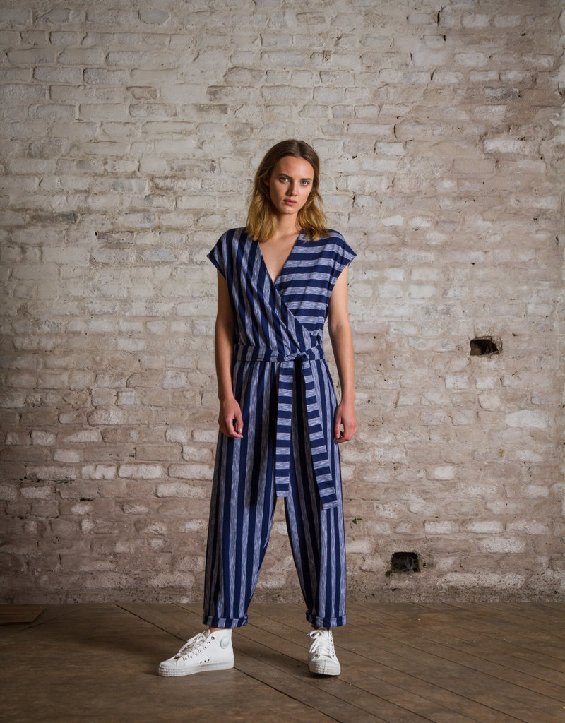 Pluto on the moon Jumpsuit - Palm
