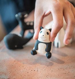 Houten diertje - Panda