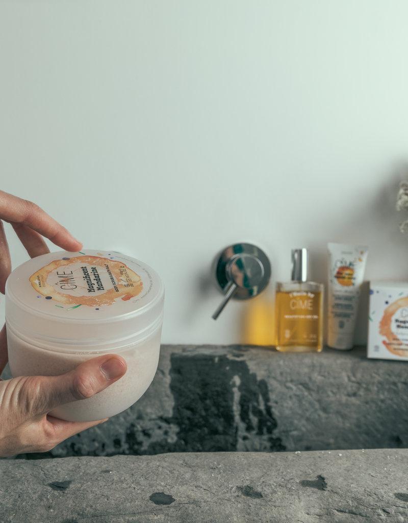 Cime Magnificent Mandarine - Bodyscrub & Badzout