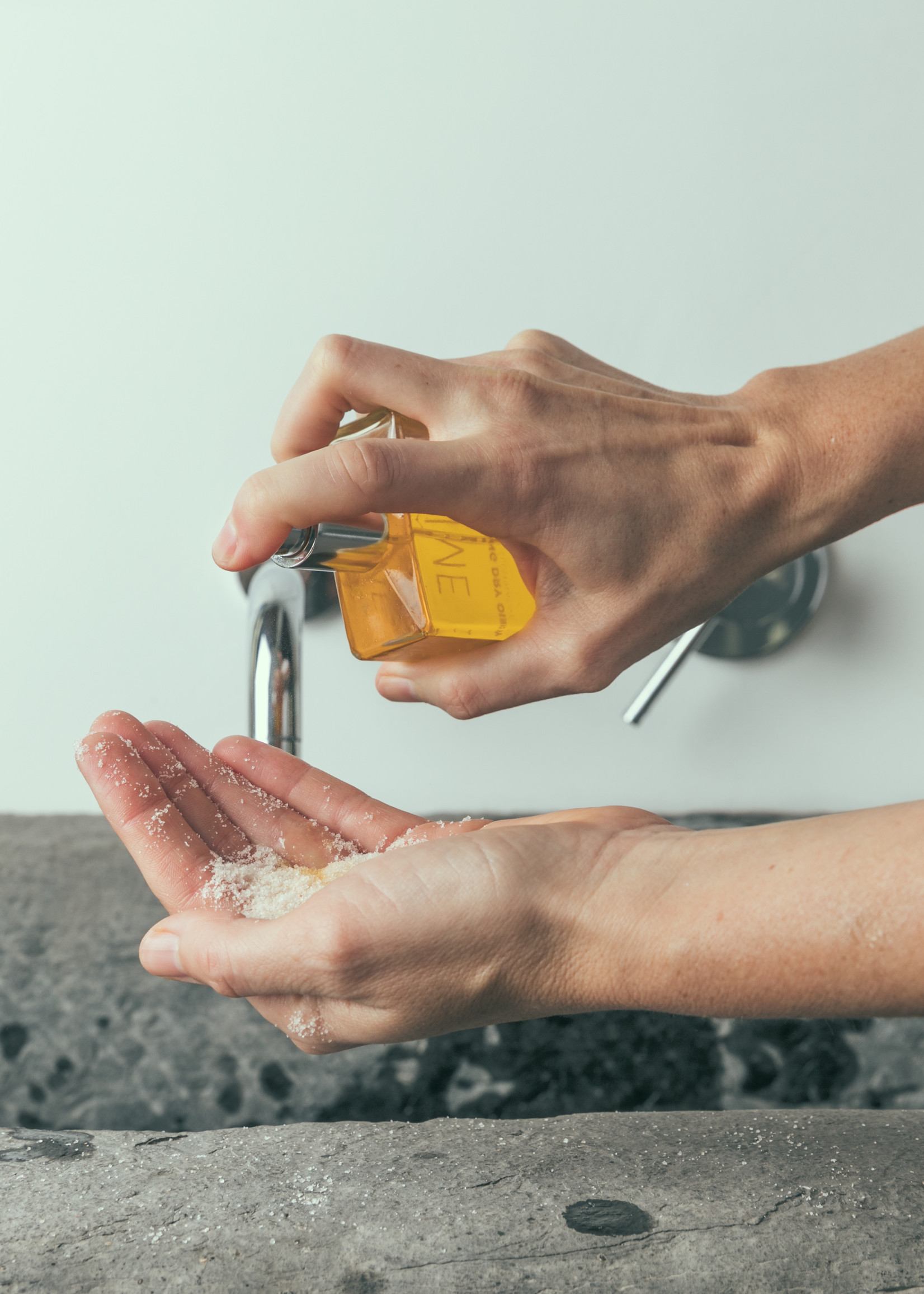 Magnificent Mandarine - Bodyscrub & Badzout