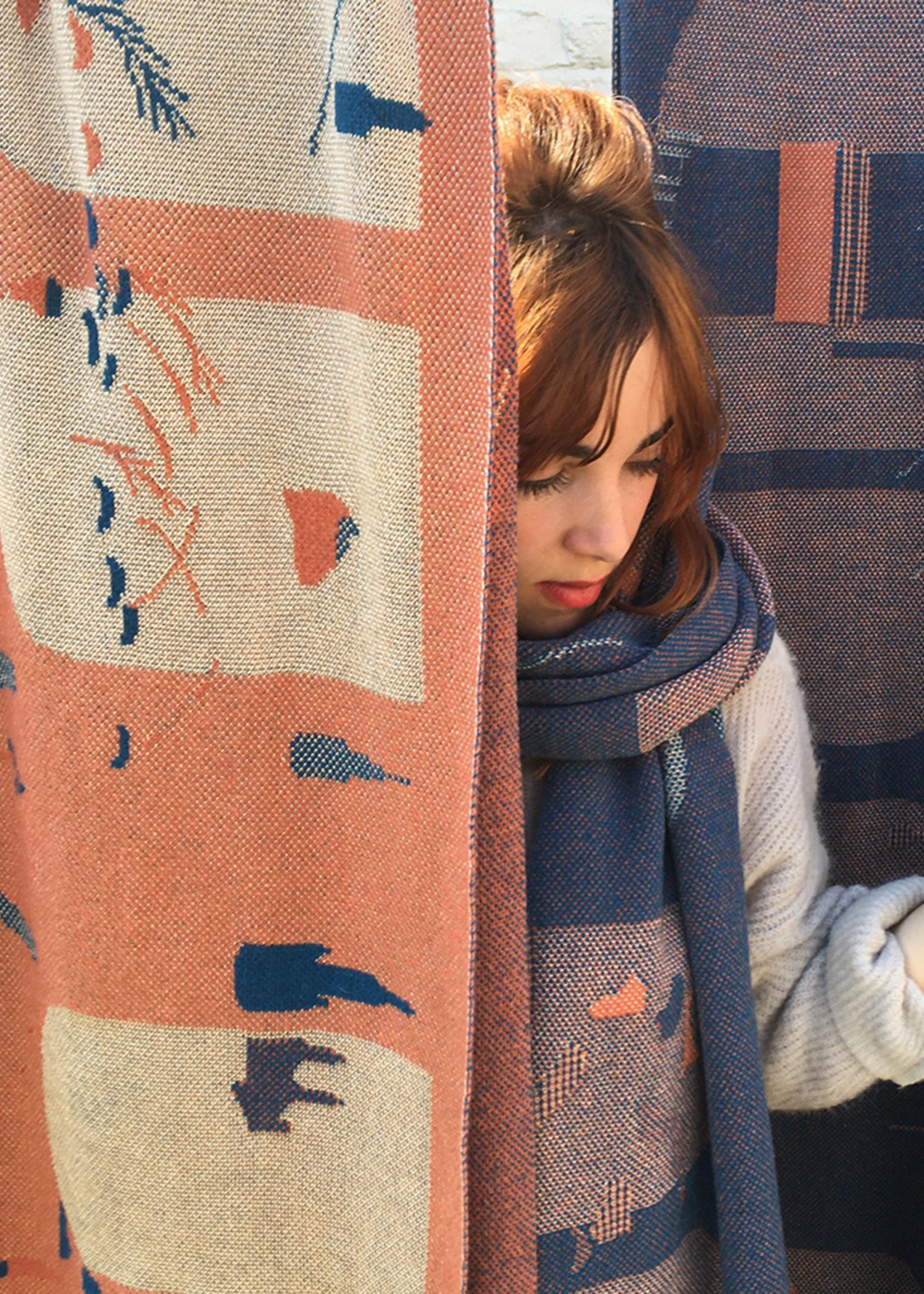 Sjaal Van Eyck - Blue