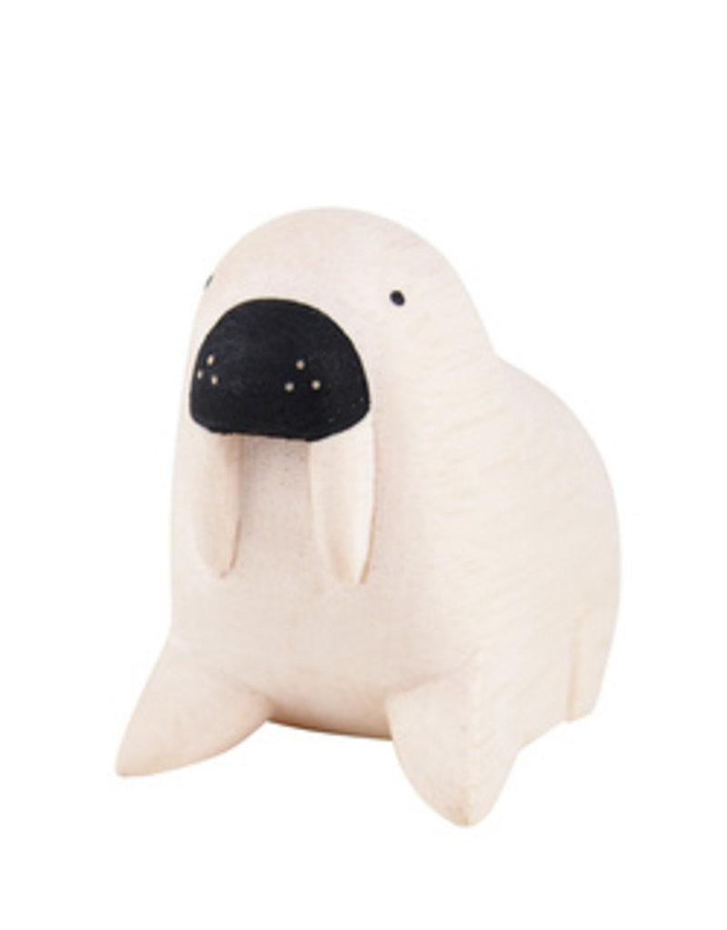 Houten dier Walrus