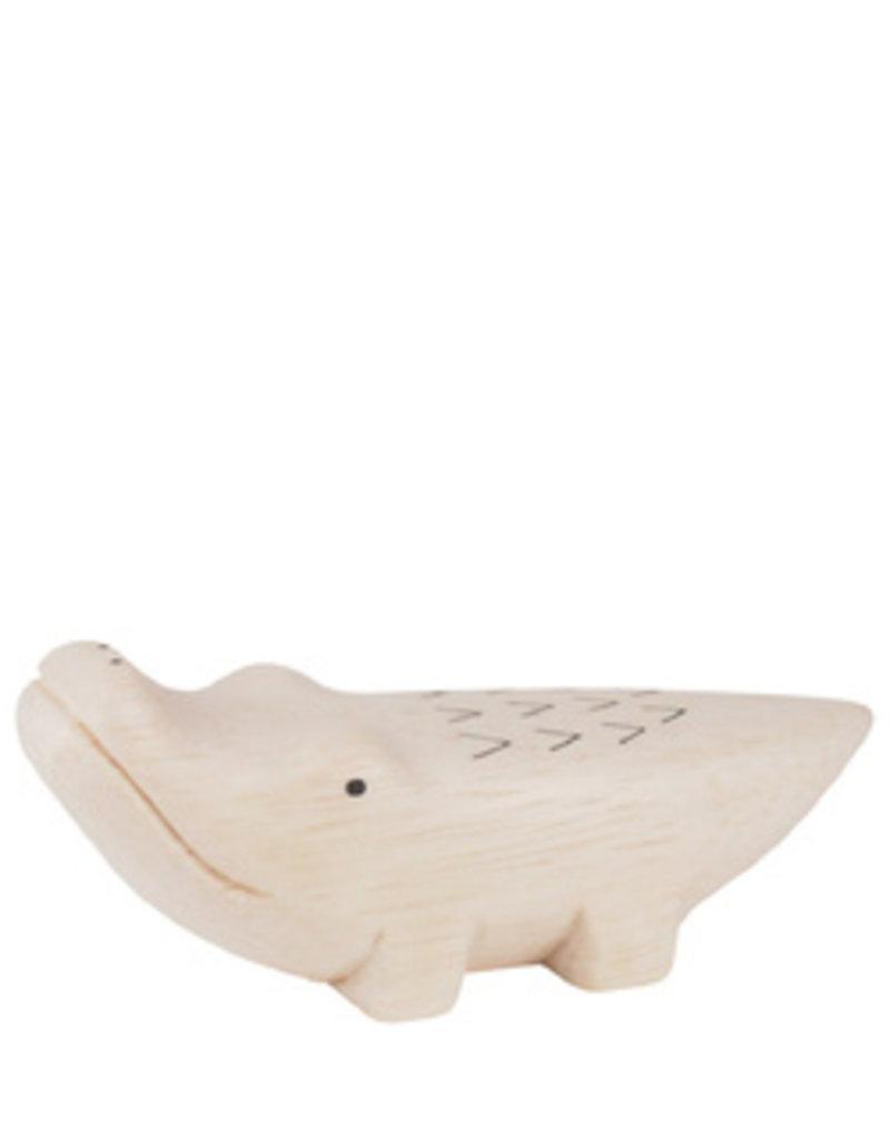 Houten dier Krokodil