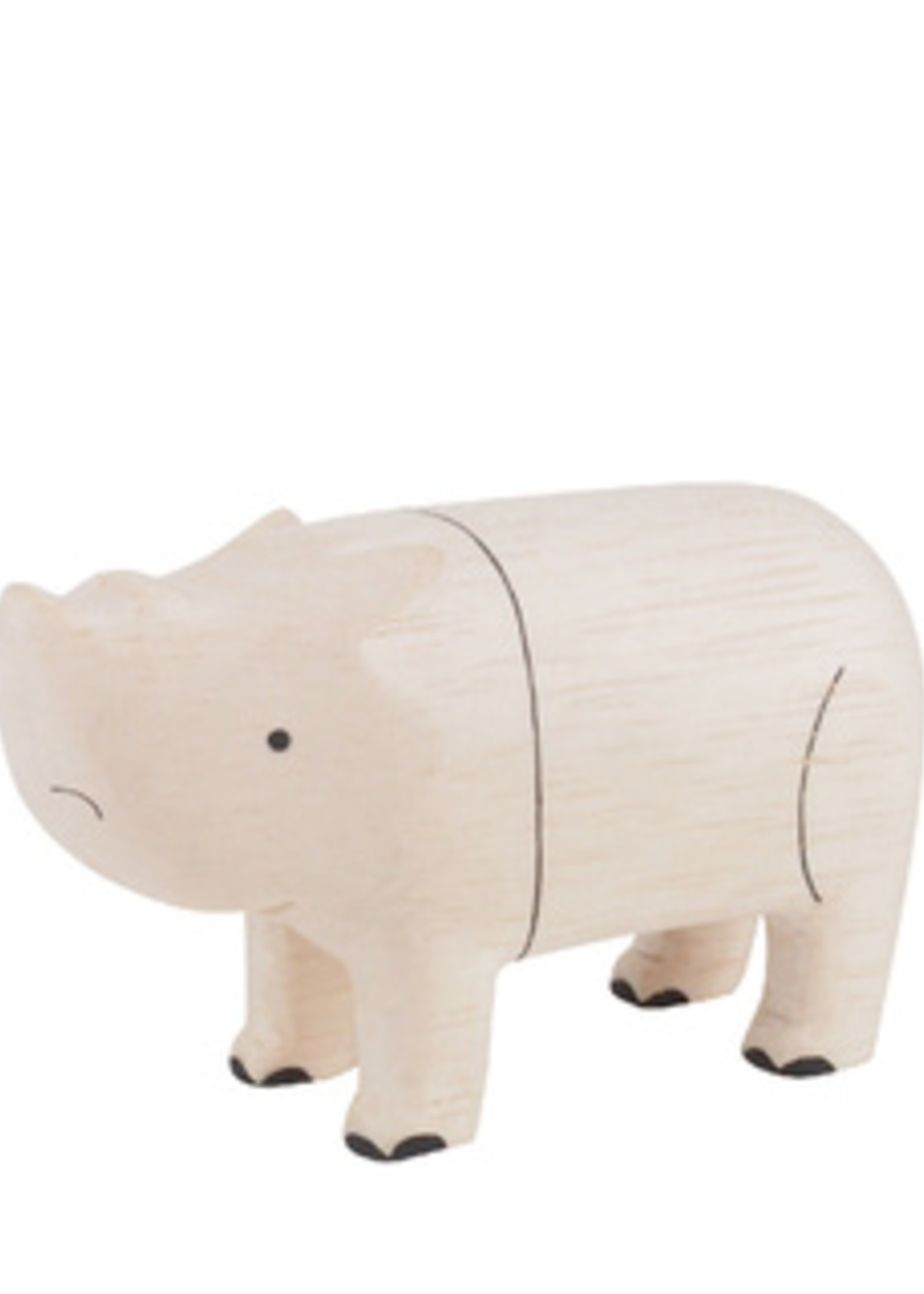 Houten dier Neushoorn