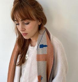 Sophie Speck Sjaal Van Eyck - Peach