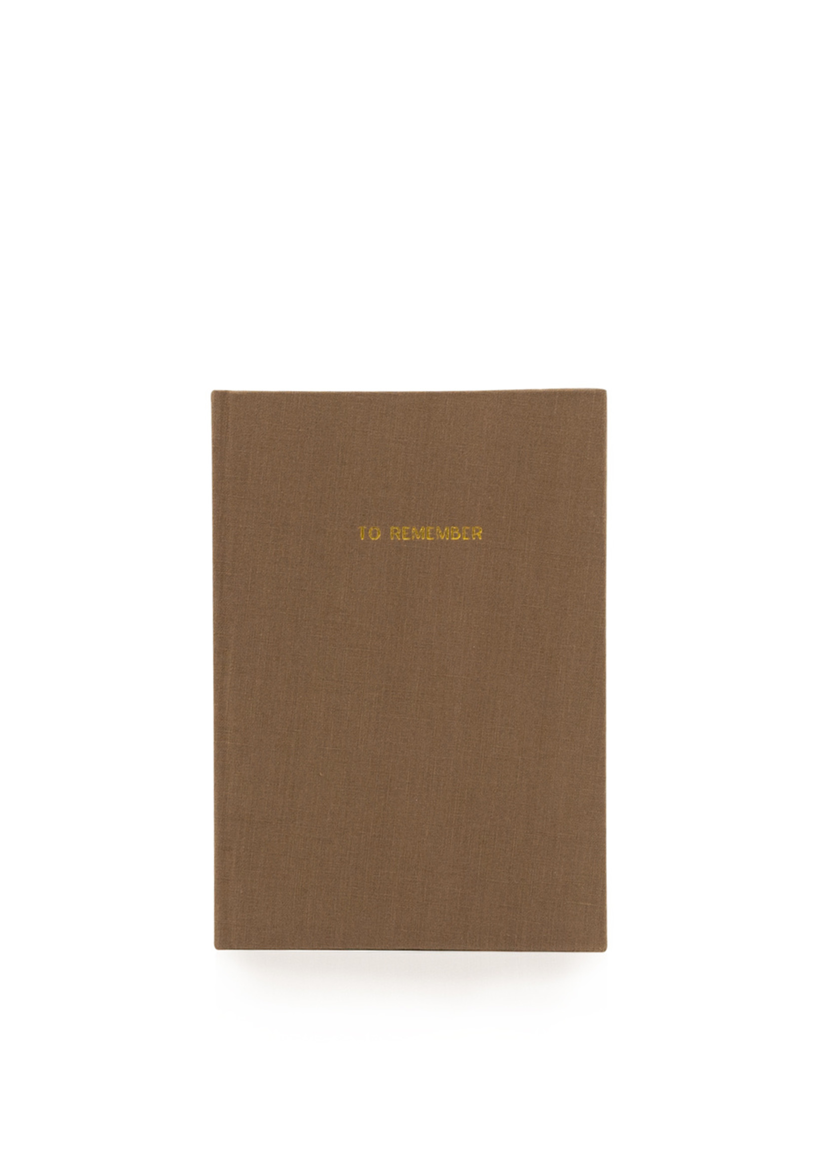Notebook - to remember