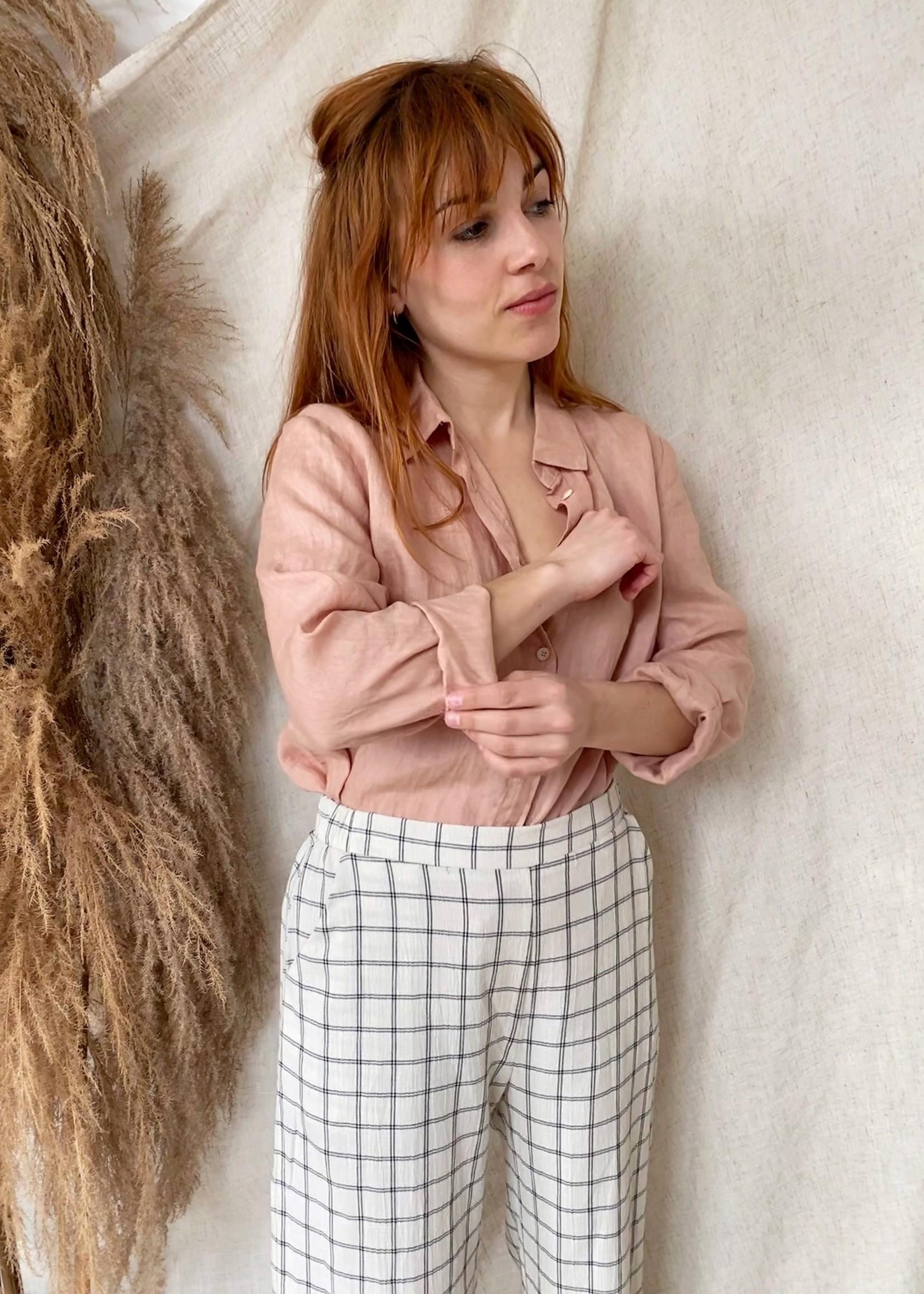 Linnen blouse - Llanten