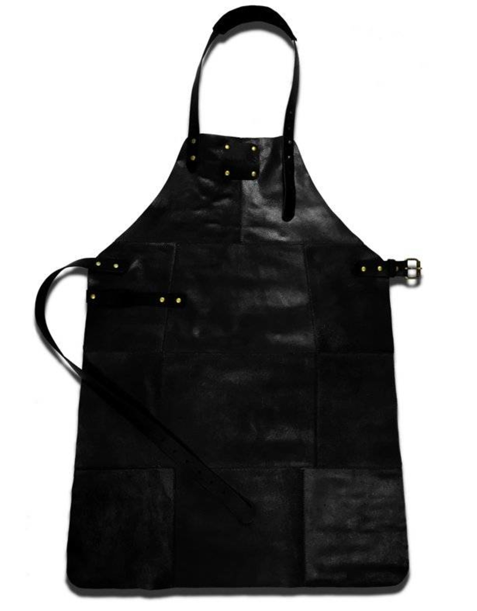Parya Home Parya Home - Lederen Barbecue Schort - Zwart