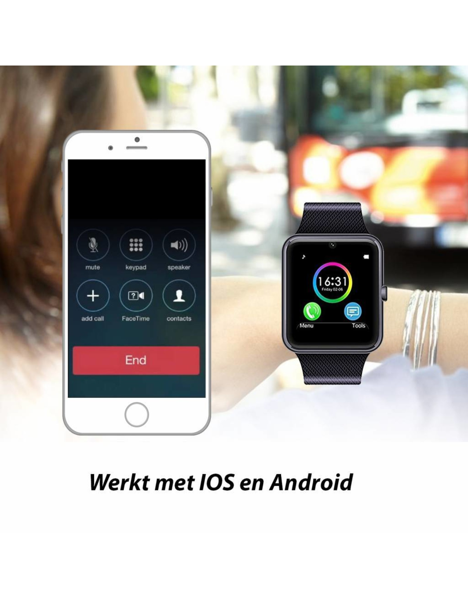 Parya Official Smartwatch - HF42
