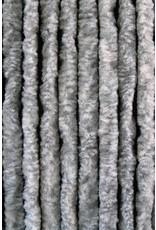 Cortenda - Vliegengordijn Kattenstaart - 90 x 220 cm - Grijs/Wit Gemeleerd - Hor Gordijn