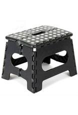 Opvouwbare Kruk - Keukentrap - Zwart - Tot 80 kg