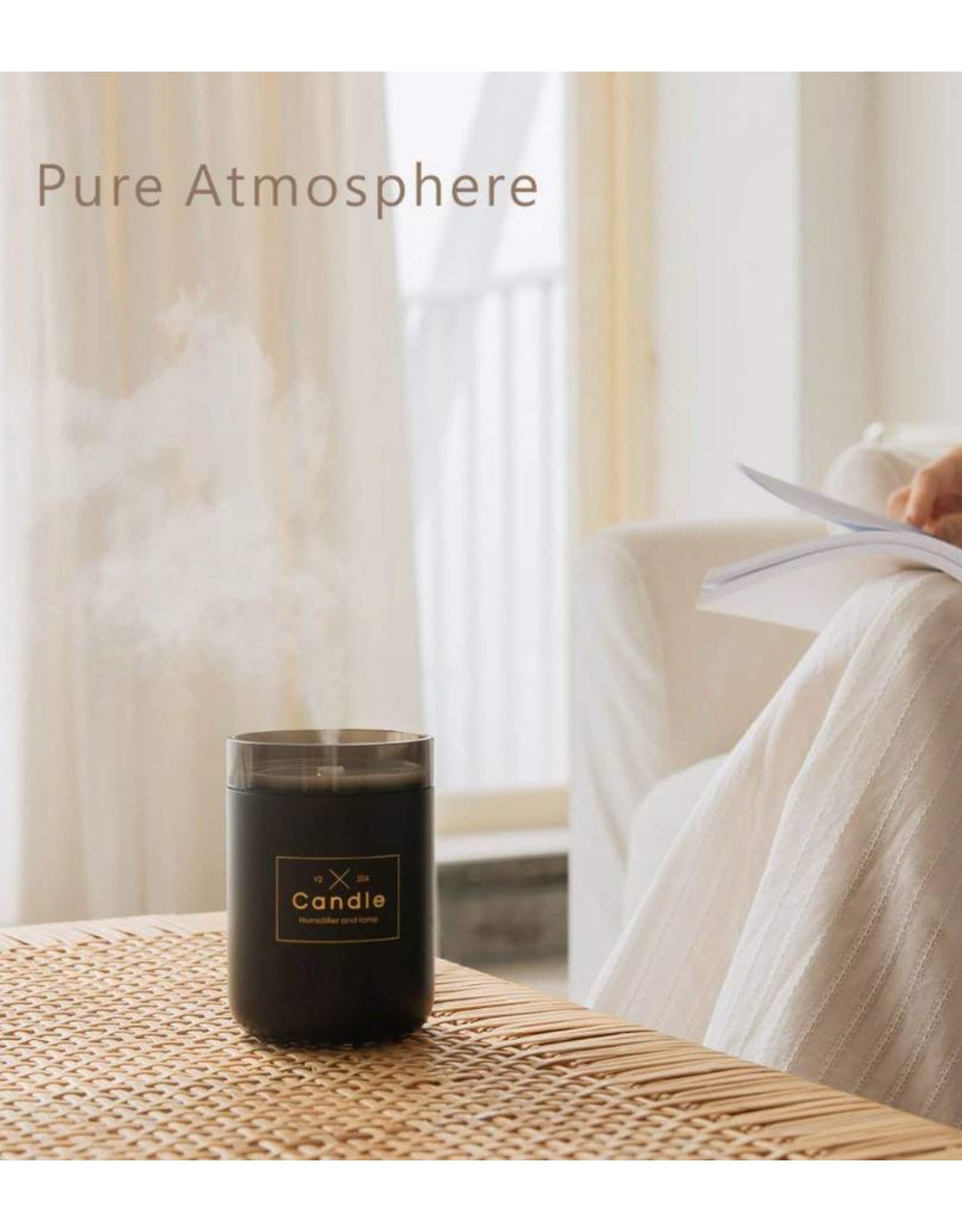 Parya Official Parya Official - Aroma Diffuser - Candle