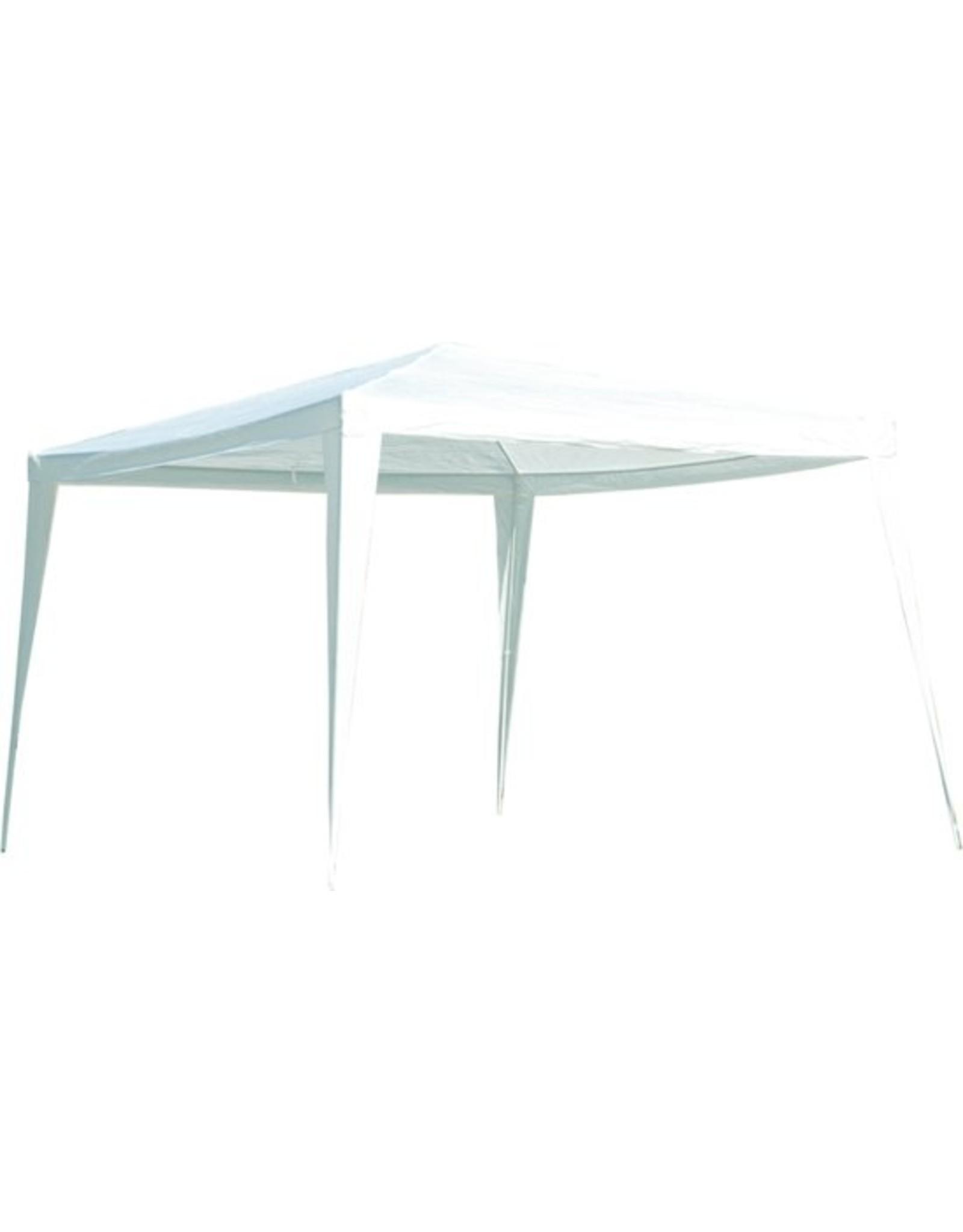 LesliLiving - Partytent - Opbouwbaar - Wit  - 3 x 3 m