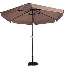 Outdoor Living Gemini Parasol - stokparasol - Ø300 cm - taupe
