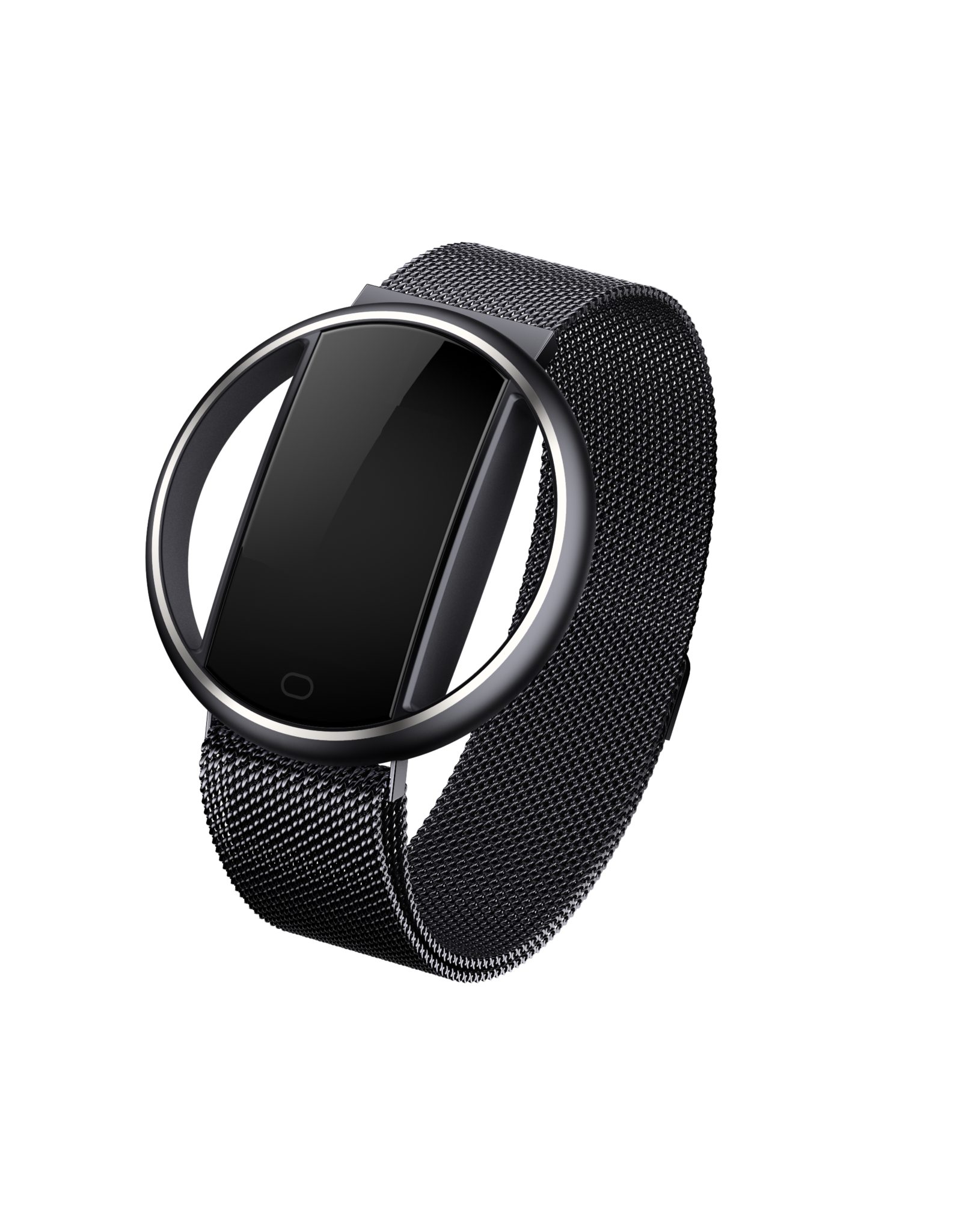 Parya Official Parya - Smart Bracelet - Moon - Zwart - Stainless